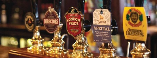 The Nags Head: Our selection of real ales