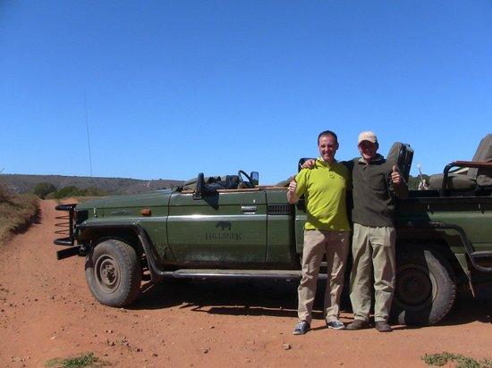 HillsNek Safaris, Amakhala Game Reserve: Time to say goodbye unfortunately