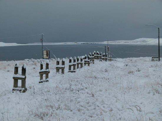 Tierra del Fuego, Chile: Snow on the island