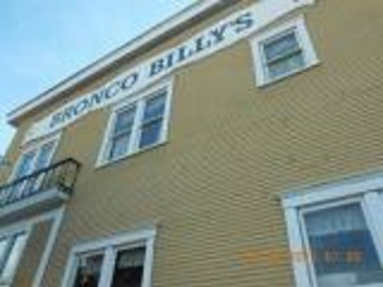 Bronco Billy's Ranch Grill and Saloon: Out side of Bronco Billy's