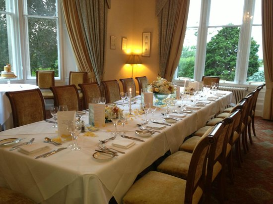Garvock House Hotel: Transy - private dining