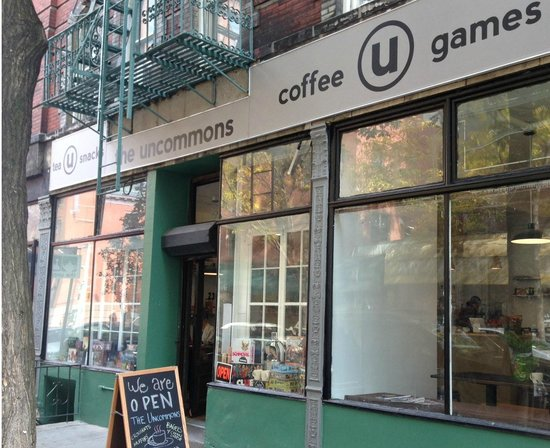 Photo of Cafe The Uncommons at 230 Thompson St, New York City, NY 10012, United States