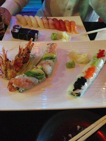 Samurai Sushi: Sushi