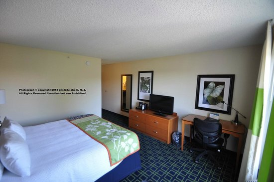 Fairfield Inn & Suites Ocala: My Hotel Room #315