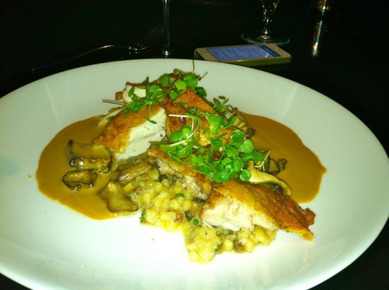 The Grill: Free Range Chicken with Madeira Wine Sauce