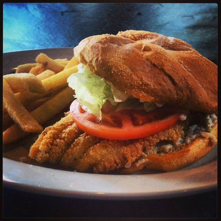 Grover T's BBQ: The BEST Catfish Sandwich!