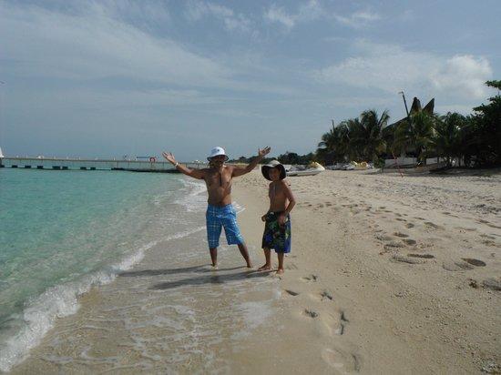 Allegro Cozumel: Walk along beautiful beach