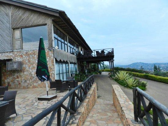 Cassia Lodge : frente del hotel