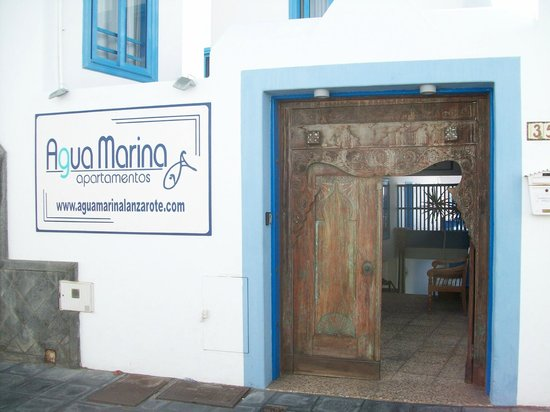 Agua Marina Apartments: what a great entrance