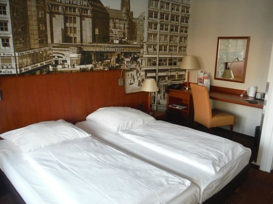 Mercure Hotel Berlin am Alexanderplatz: quartos