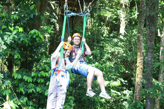 Jungle Surfing Canopy Tours: both of them