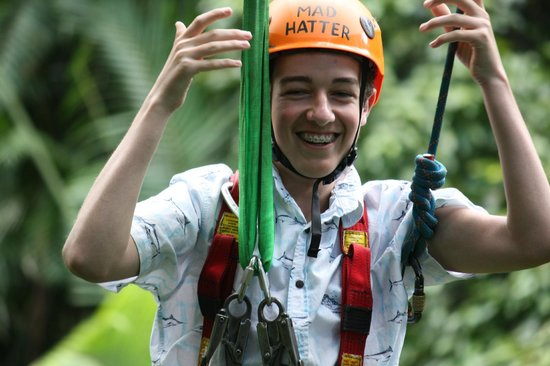 Jungle Surfing Canopy Tours: the young one