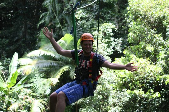 Jungle Surfing Canopy Tours: The big lad