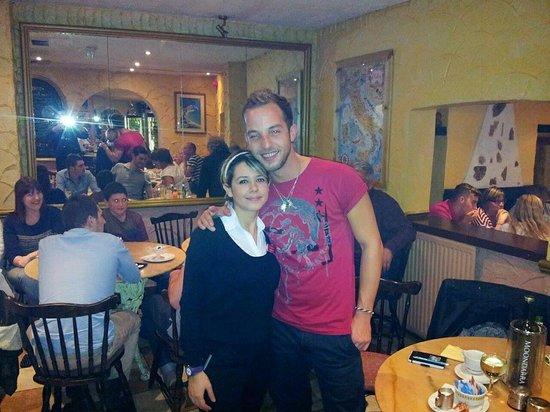 Florios Pizzeria Restaurant: James Morrison @ florios!