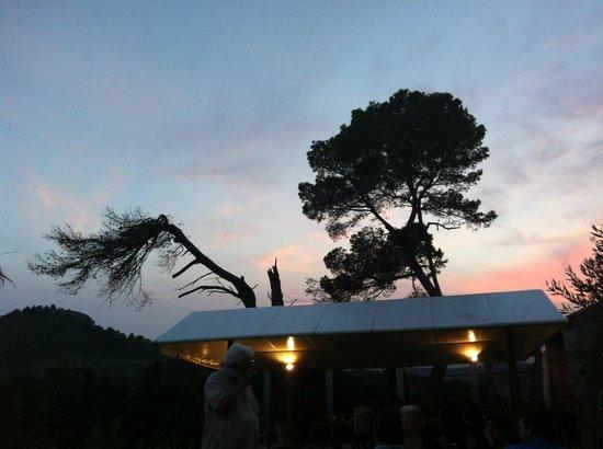 Chambre d'Hotes au Domaine du Soleil Couchant: Sunset