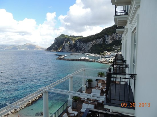 J.K.Place Capri: View from our room at JK Place