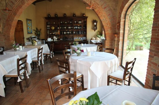 Villa Cicolina: Beautiful Dining