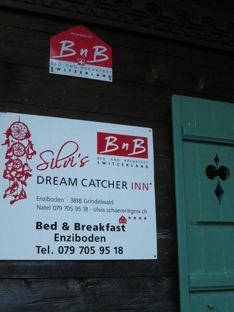 Silvi's Dream Catcher Inn : Silvi's Sign