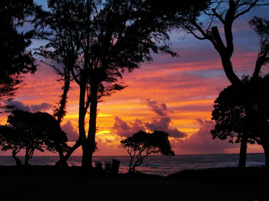 Kauai Coast Resort at the Beachboy : amazing sunrise