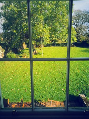 Kilmahon House: View from the drawing room