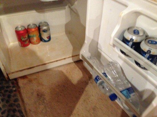 Bel Air Collection Xpu Ha Riviera Maya: frigo bar descompuesto