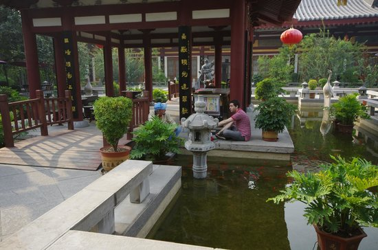 Tang Dynasty Art Garden Hotel: One of the Courtyards