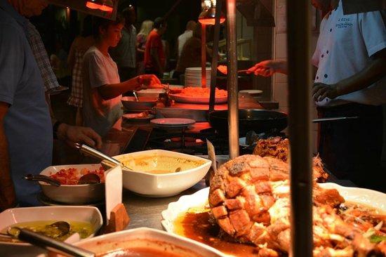 Royal Horizons Boa Vista : Une petite partie du buffet