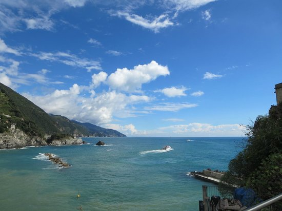 L'Antico Borgo: where we took our boat trip to view all down to Portovenere