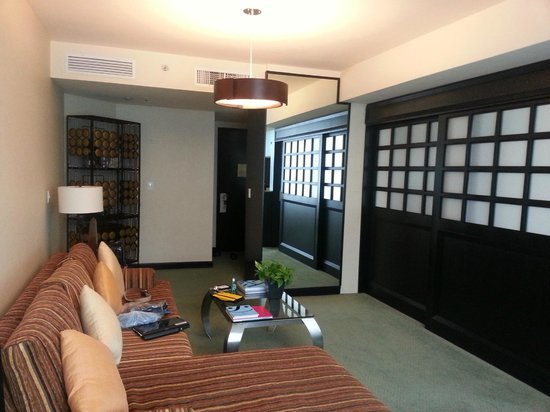 Marquis Reforma Hotel & Spa: Apartamento de boas dimensões