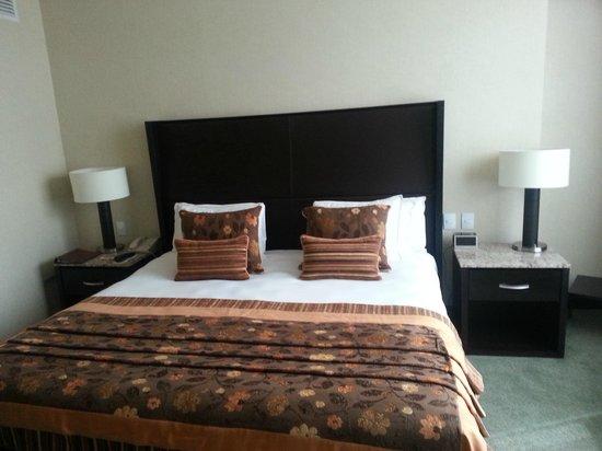 Marquis Reforma Hotel & Spa: Cama - muito bonita e confortável