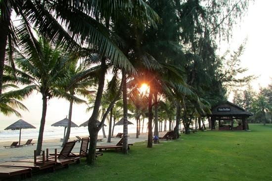 Palm Garden Beach Resort & Spa: Early morning walks on the beach