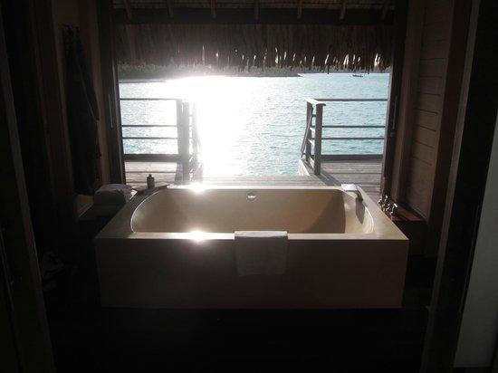Four Seasons Resort Bora Bora: view from room