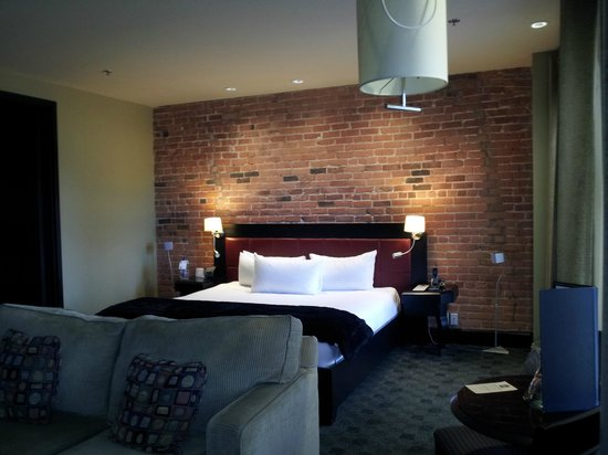 Hôtel Place d'Armes : Bedroom