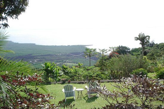 Ka'awa Loa Plantation: view from the back yard