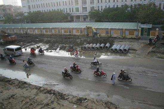 Festival Hue Hotel: vista desde el balcón