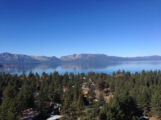 Harveys Lake Tahoe: VIEW FROM BALCONY