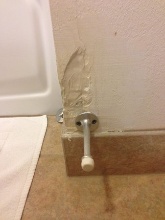 BEST WESTERN Legacy Inn & Suites Beloit-South Beloit: Bad patch job