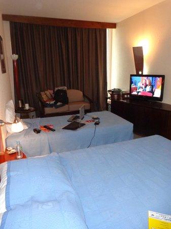 Hotel des Roches: quarto