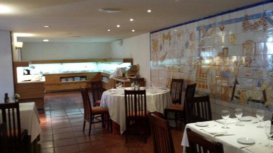 Parador de Manzanares: Comedor buffet