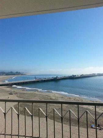 Dream Inn: View of beach from room
