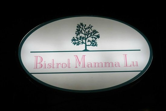 Bistrot Mamma Lu: Placa