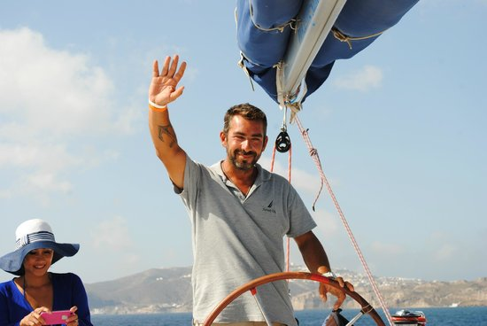 Sunset Oia Sailing - Day Tour: Greetings from Argiris