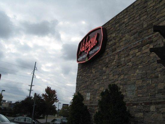 Hickory Falls Restaurant: Building exterior