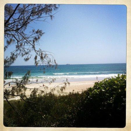 Beach Byron Bay: The view