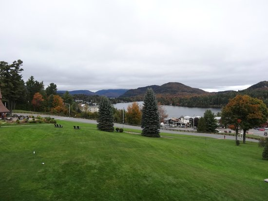 Crowne Plaza Lake Placid: lake view from 2nd floor