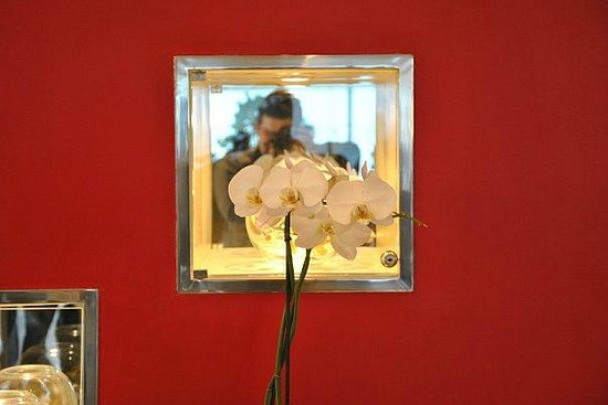 Residhome Paris-Opera: В холле красивые орхидеи