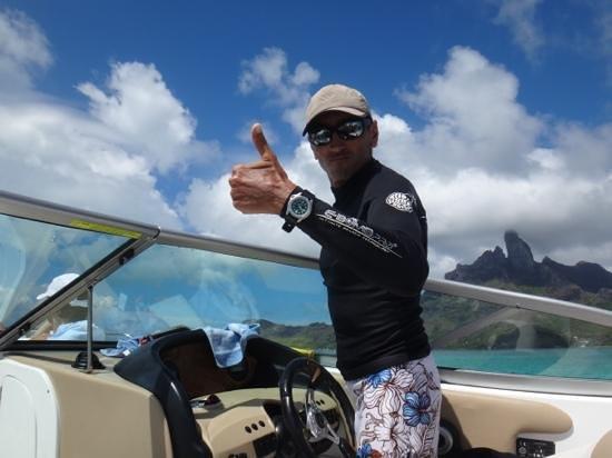 Four Seasons Resort Bora Bora: chistophe