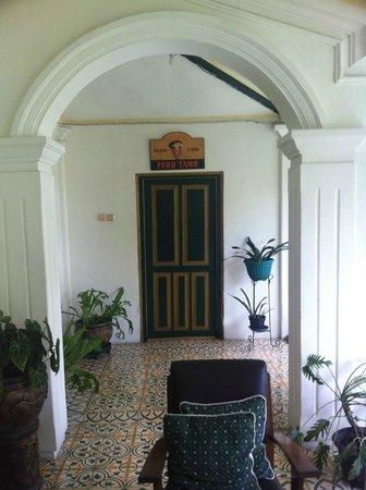 nDalem Gamelan Hotel : the patio