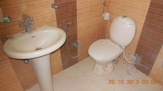 Hotel Delhi Aerocity : Good neat and clean bathroom.