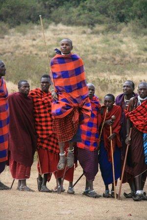 Ngorongoro Conservation Area, Tanzania: Masai Dance